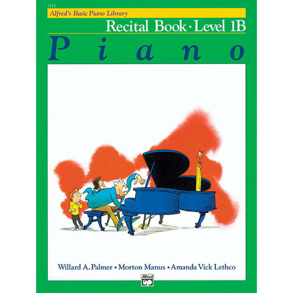 Alfred's Basic Piano Library Recital Book - Level 1B - Octave Music Store
