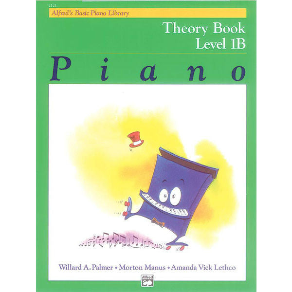 Alfred's Basic Piano Library Theory Book - Level 1B - Octave Music Store