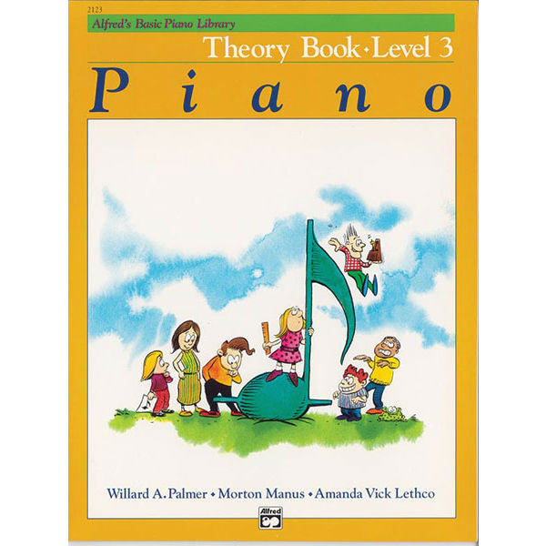 Alfred's Basic Piano Library Theory Book: Level 3 - Octave Music Store