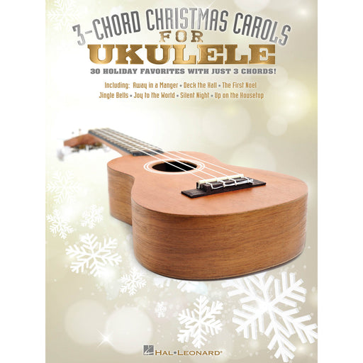 3-Chord Christmas Carols for Ukulele - Octave Music Store