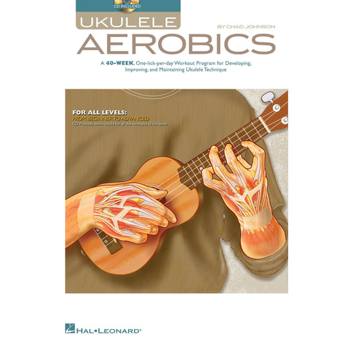 Ukulele Aerobics (CD Included) - Octave Music Store