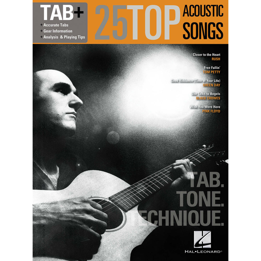 Tab+ 25 Top Acoustic Songs - Octave Music Store