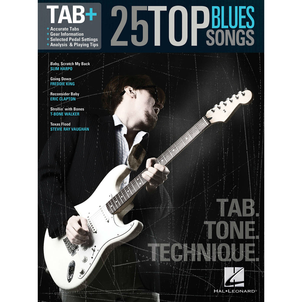 Tab+ 25 Top Blue Songs - Octave Music Store