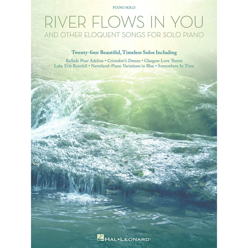 River Flows In You And Other Eloquent Songs For Solo Piano - Octave Music Store