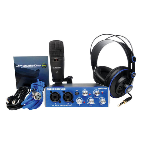 PreSonus AUDIOBOX™ Studio Recording Bundle - Octave Music Store