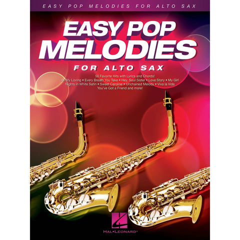 Easy Pop Melodies For Alto Sax - Octave Music Store