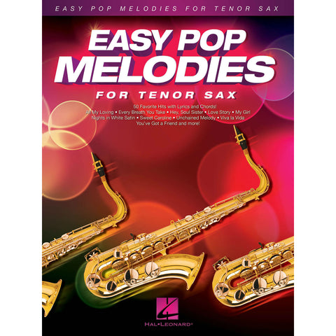 Easy Pop Melodies Tenor Sax - Octave Music Store