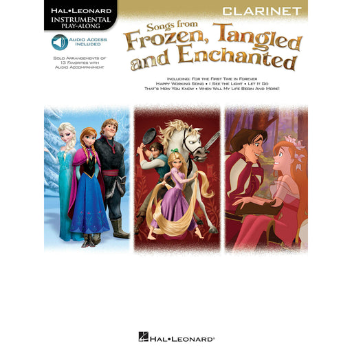 Songs from Frozen, Tangled, and Enchanted for Clarinet - Octave Music Store