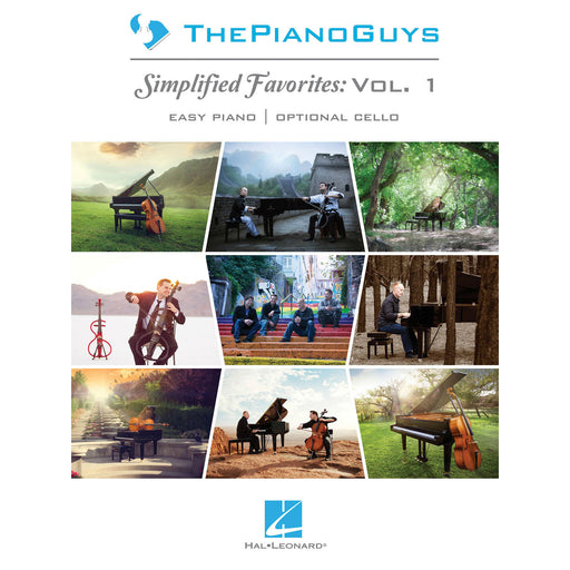 The Piano Guys: Simplified Favorites (Vol 1) Easy Piano With Optional Cello - Octave Music Store