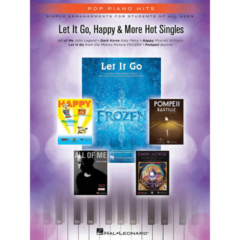 Pop Piano Hits for Piano: Simple Arrangements For Students Of All Ages - Octave Music Store