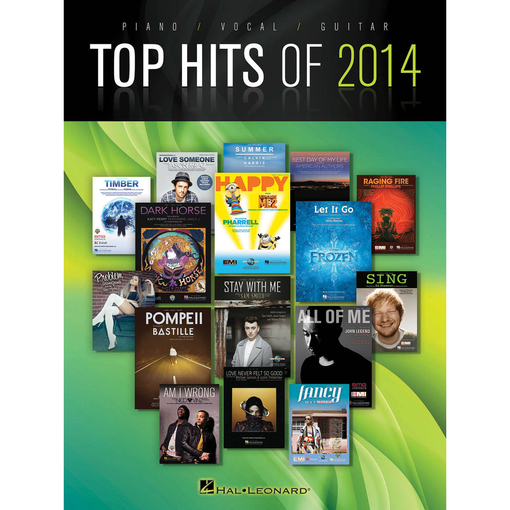 Top Hits of 2014 for Piano/Vocal/Guitar - Octave Music Store