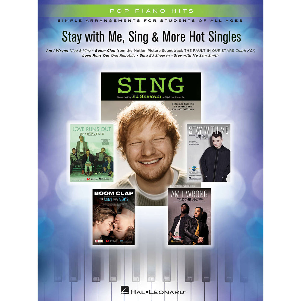 Pop Piano Hits (Simple Arrangements For Students Of All Ages) - Octave Music Store