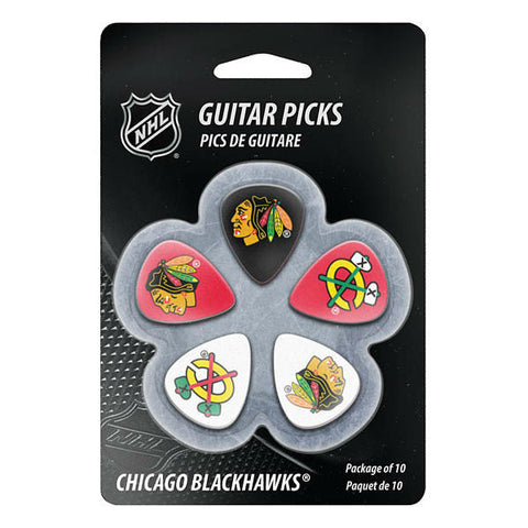 Chicago Blackhawks Guitar Picks