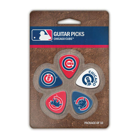 Chicago Cubs Guitar Picks