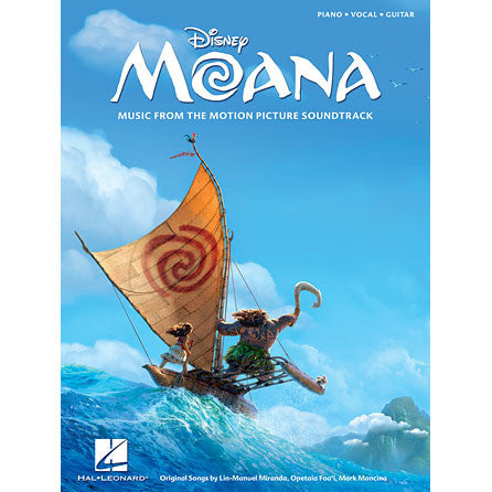 Disney Moana: Music From The Motion Picture Soundtrack for Piano/Vocal/Guitar - Octave Music Store