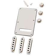 FENDER PARTS: STRATOCASTER® ACCESSORY KIT (WHITE)