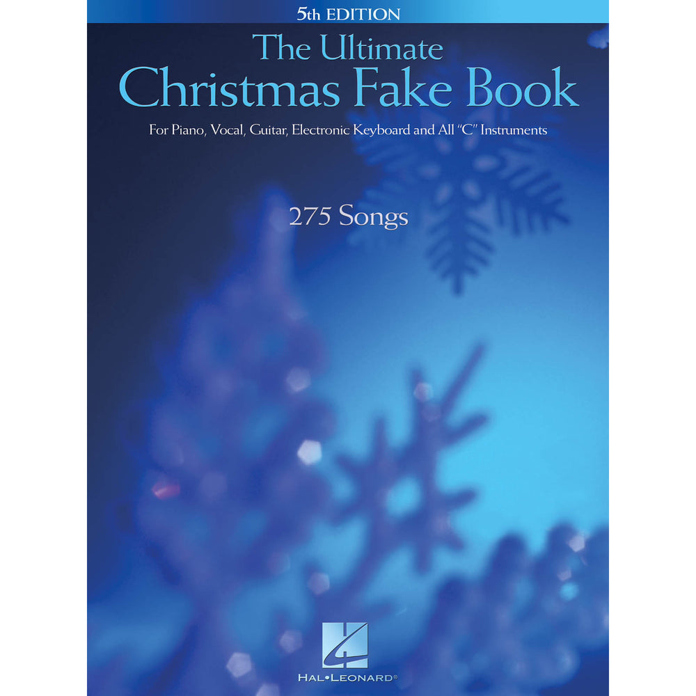The Ultimate Christmas Fake Book – 5th Edition - Octave Music Store