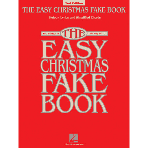 The Easy Christmas Fake Book – 2nd Edition - Octave Music Store