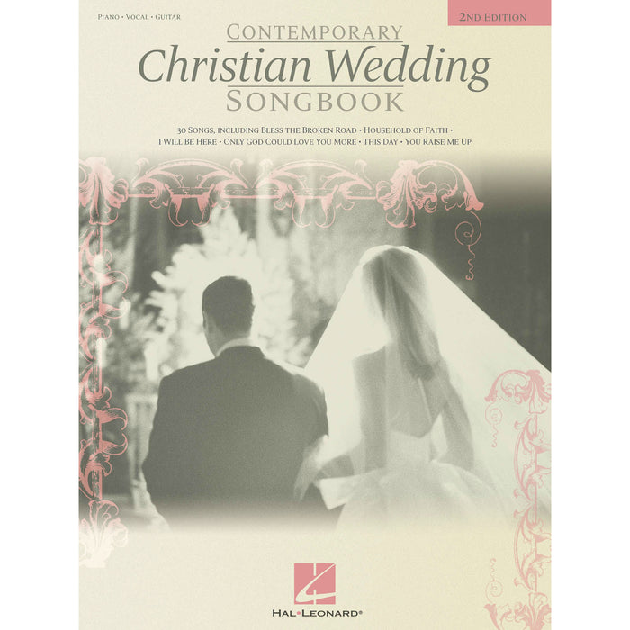 Contemporary Christian Wedding Songbook for Piano, Vocal, Guitar - Octave Music Store
