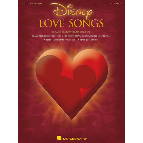 Disney Love Songs For Piano, Vocal, Guitar - Octave Music Store