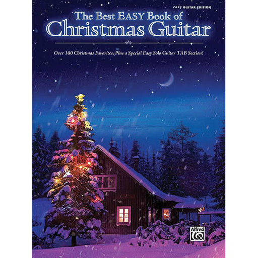 The Best Easy Book of Christmas Guitar - Octave Music Store