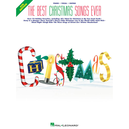The Best Christmas Songs Ever – 6th Edition - Octave Music Store
