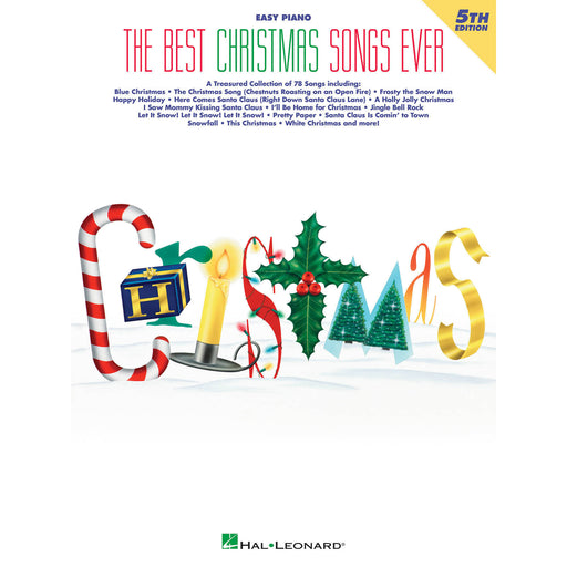 The Best Christmas Songs Ever – 5th Edition - Octave Music Store