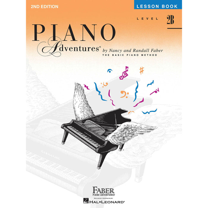 Piano Adventures Level 2B Lesson Book - Octave Music Store