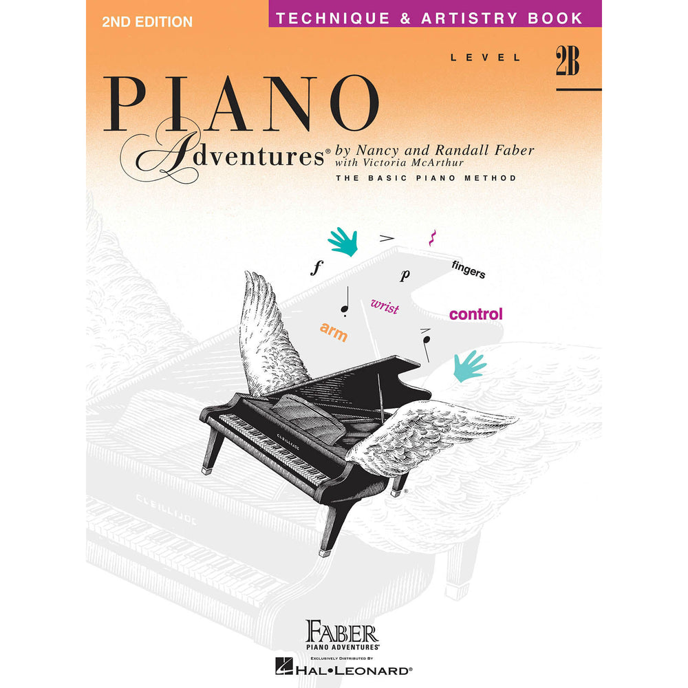 Piano Adventures Level 2B Technique & Artistry - Octave Music Store