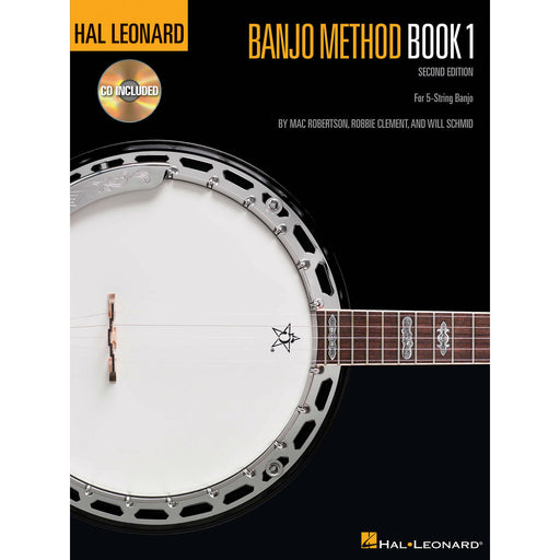 Banjo Method Book 1 (CD Included) : 2nd Edition - Octave Music Store