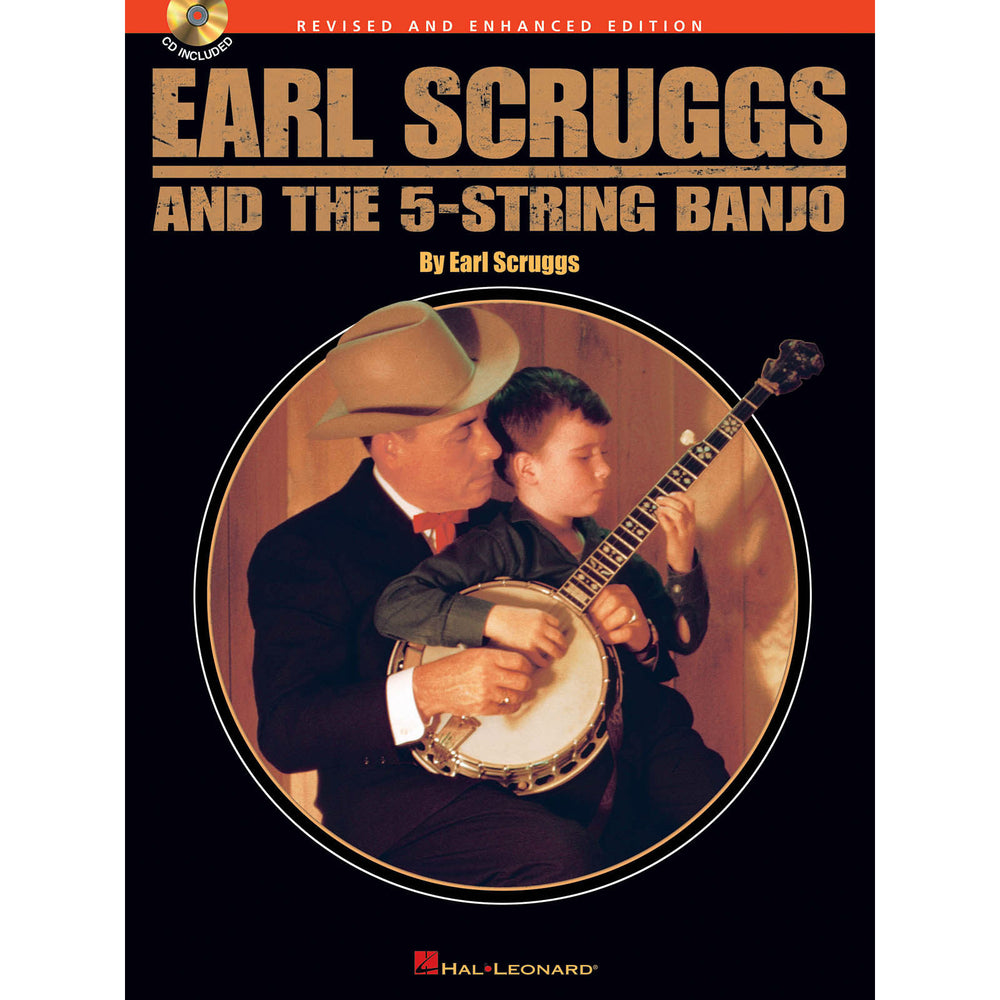Earl Scruggs and the 5-String Banjo (CD Included) - Octave Music Store