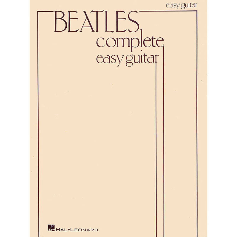 Beatles Complete For Easy Guitar - Octave Music Store