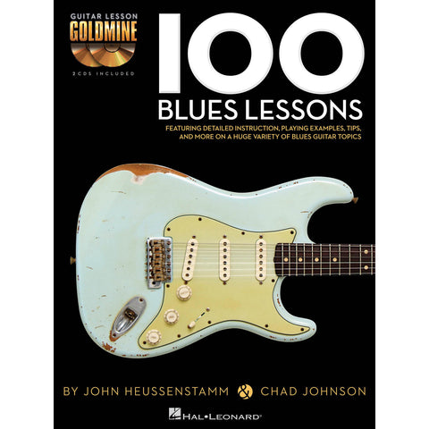 101 Blues Lessons For the Guitar (2 CD's Included) - Octave Music Store