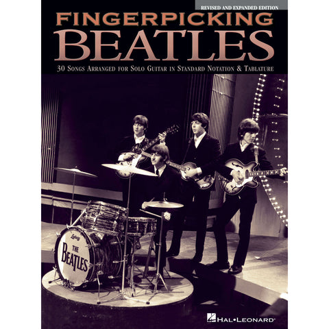 Fingerpicking Beatles: 30 Songs Arranged For Solo Guitar - Octave Music Store