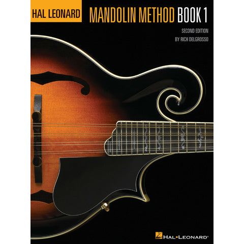 Hal Leonard Mandolin Method - Octave Music Store
