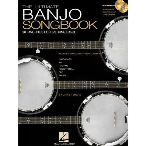The Ultimate Banjo Songbook: 26 Favorites for 5-String Banjo - Octave Music Store