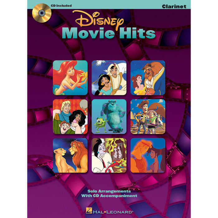 Disney Movie Hits for Clarinet - Octave Music Store