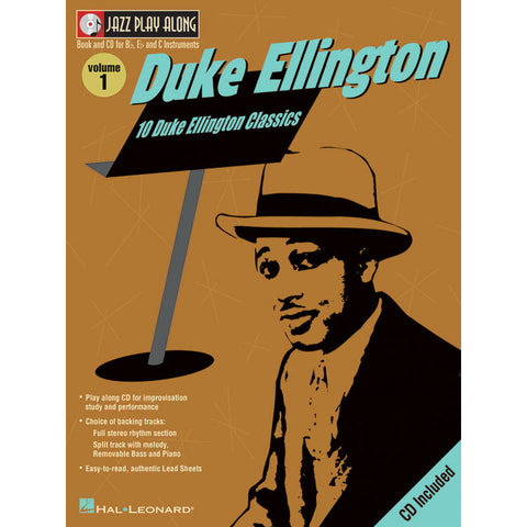Duke Ellington Jazz Play-A-Long Volume 1 - Octave Music Store