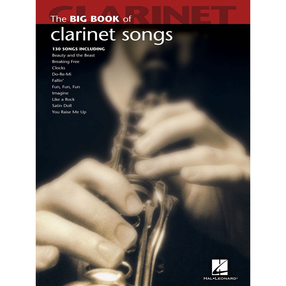 Big Book Of Clarinet Songs - Octave Music Store
