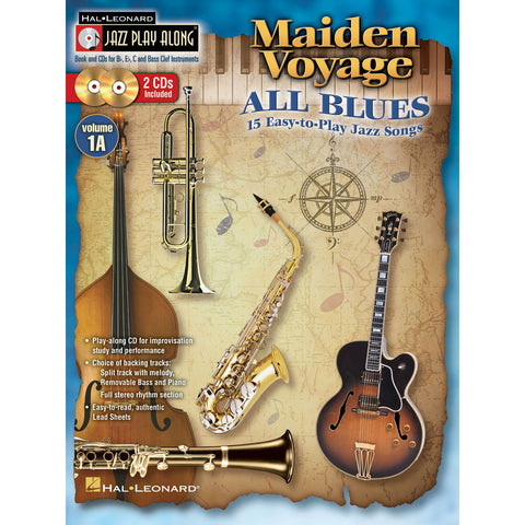 Maiden Voyage / All Blues Jazz Play-Along Volume 1A - Octave Music Store