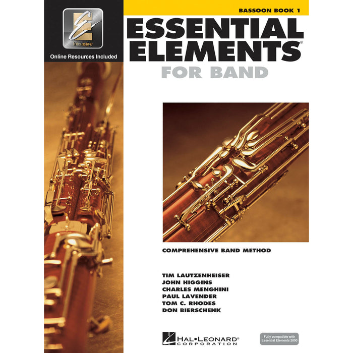 Essential Elements For Band - Bassoon Book 1 - Octave Music Store