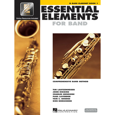 Essential Elements For Band - Bb Bass Clarinet Book 1 - Octave Music Store