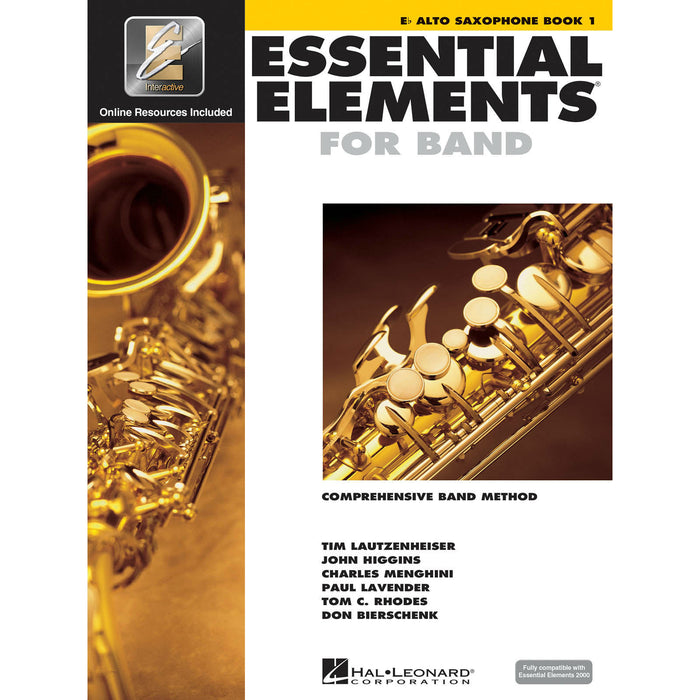 Essential Elements For Band - Eb Alto Saxophone Book 1 - Octave Music Store