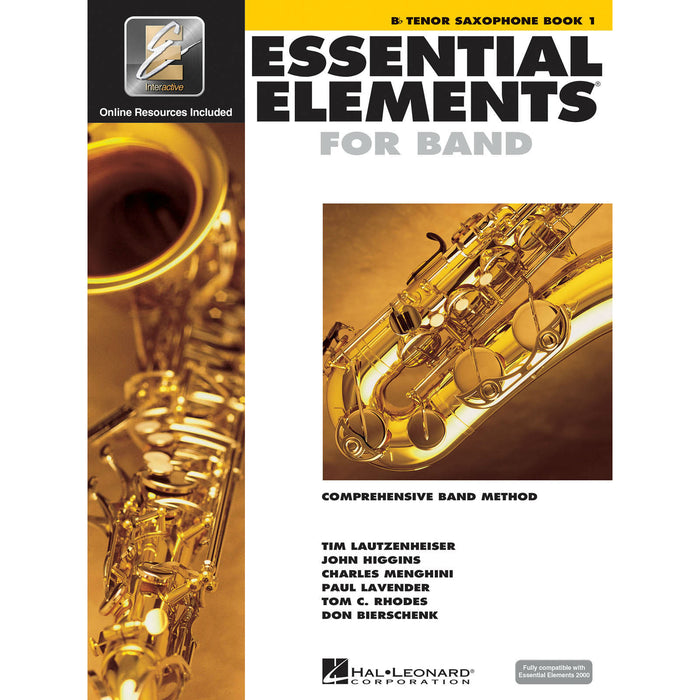 Essential Elements For Band - Bb Tenor Saxophone Book 1 - Octave Music Store