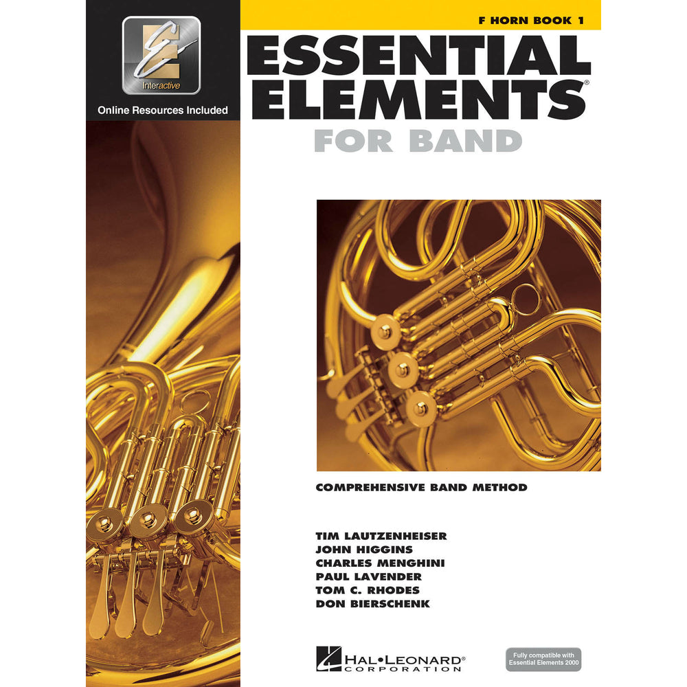 ESSENTIAL ELEMENTS FOR BAND - FRENCH HORN BOOK 1 - Octave Music Store