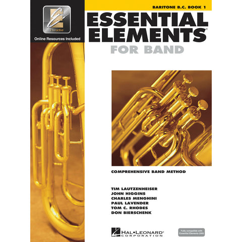 Essential Elements For Band - Baritone B. C. Book 1 - Octave Music Store