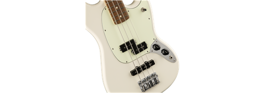 Fender Mustang Bass PJ - Olympic White