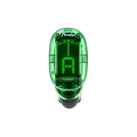 FENDER CALIFORNIA SERIES CLIP-ON TUNERS - Green
