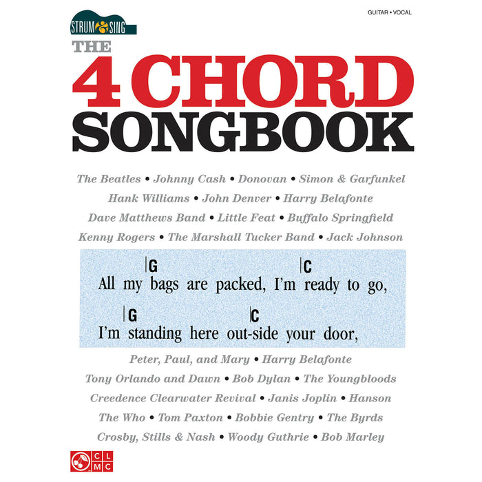 4 Chord Songbook - Octave Music Store