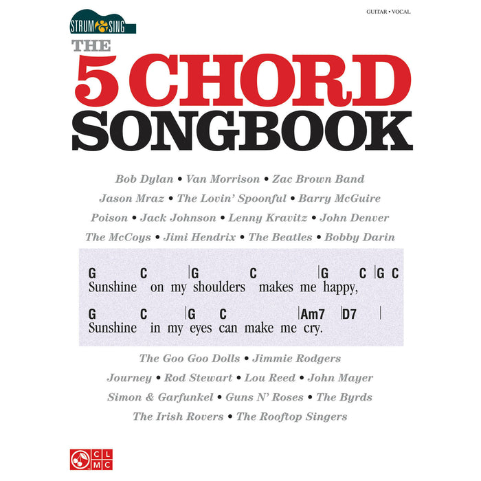 The 5 Chord Songbook - Octave Music Store